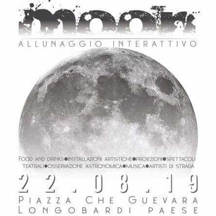"""(Ita) Ready to the flight? Il 22 agosto """"Moon – Allunaggio interattivo"""" a Longobardi"""