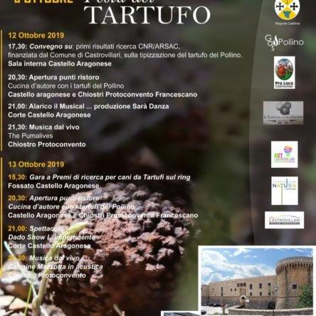 A Castrovillari torna la Festa del Tartufo del Pollino