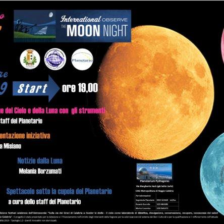 La Notte Internazionale Della Luna