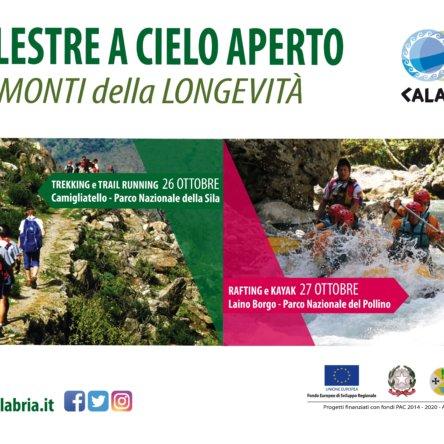 """""""PALESTRE A CIELO APERTO…"""" prima tappa nel Parco Nazionale della Sila"""