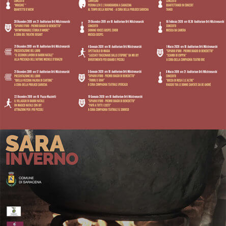 SARA Inverno. Teatro, Musica, Eventi per bambini e momenti culturali