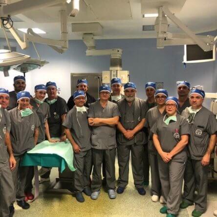 Grande orgoglio per l'equipe medica reggina che ha operato in diretta con i migliori ospedali del mondo