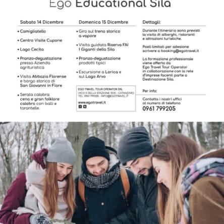 Ego educational Sila. Una due giorni per raccontare la montagna calabrese alle agenzie di viaggio