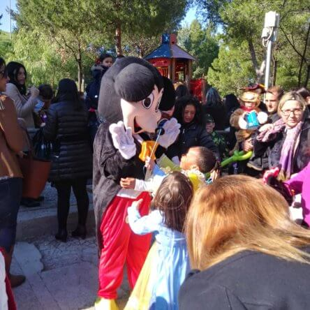 Grande successo della festa di Carnevale a Parco Pitagora