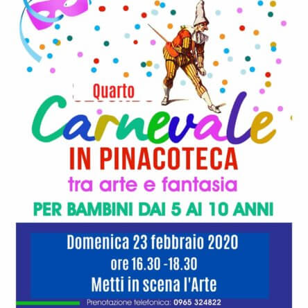 É carnevale! Metti in scena l'arte…Domenica 23 febbraio in Pinacoteca