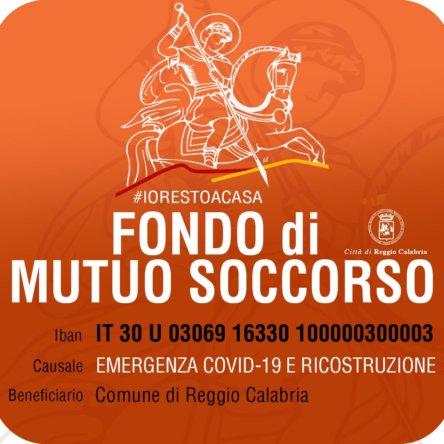 Il Comune di Reggio Calabria istituisce un Fondo di mutuo soccorso