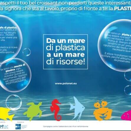 """(Ita) Al via la campagna di comunicazione """"Da un mare di plastica a un mare di risorse"""""""