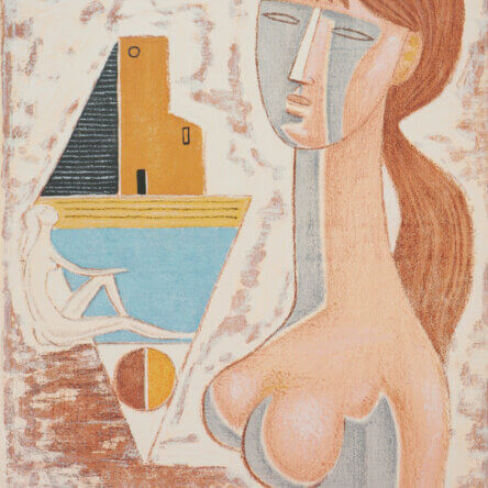 Un'opera dell'artista Lucia Paese nella collezione del MACA