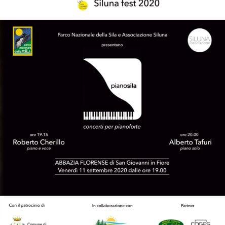 """(Ita) """"PIANO SILA"""" 11 settembre 2020 ore 19:00"""