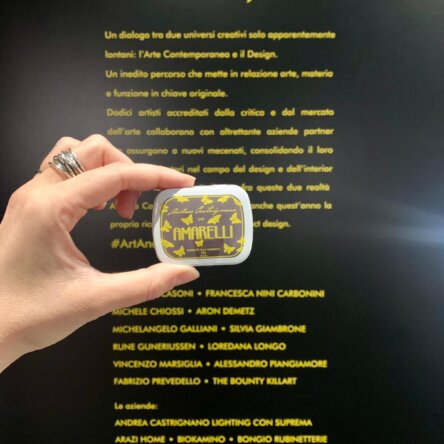 (Ita) Amarelli Design: Andrea Castrignano firma la Limited Edition per l'evento Milano Design City 2020