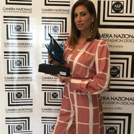 Va ad Alessandra Giulivo il premio Elmo 2020 per la categoria moda