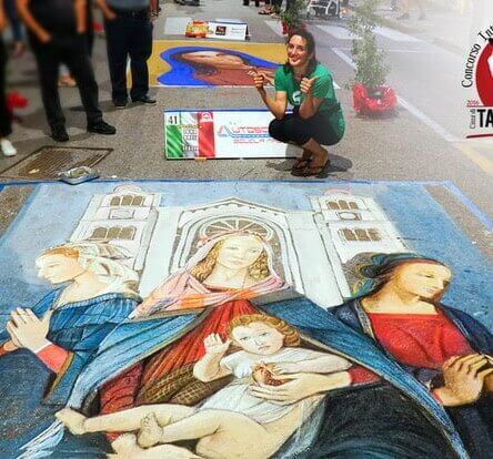 A Taurianova non si ferma l'arte dei madonnari