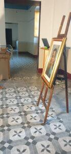 Un dettaglio della digitalizzazione della Pinacoteca Andrea Alfano di Saracena