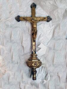 Croce restaurata al Museo Civico di Altomonte