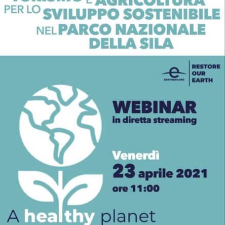 Un webinar firmato Ente Parco Nazionale della Sila, Destinazione Sila e Coldiretti Calabria per celebrare la Giornata Mondiale della Terra