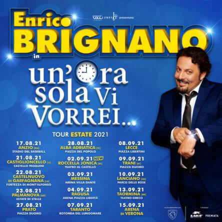 Roccella Summer Festival, ci sarà anche Enrico Brignano. Il 2 settembre il comico romano al Teatro al Castello