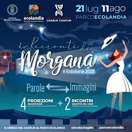"""Anche quest'anno la rassegna cinematografica """"I racconti di Morgana"""" al Parco Ecolandia (RC)"""