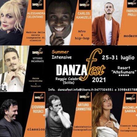 Ritorna in riva allo Stretto il Danzafest, il summer intensive con docenti internazionali dedicato alla danza