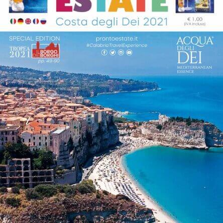"""""""Pronto Estate 2021"""" esce, come ogni anno, la guida turistico-informativa multilingua  più importante della Calabria"""