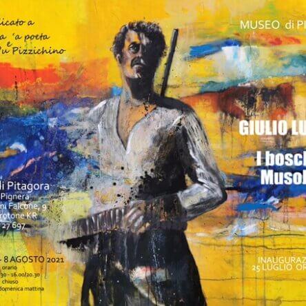"""Inaugurazione Mostra """"I boschi di Musolino"""" in esposizione al Museo di Pitagora, domenica 25 luglio ore 19,00"""