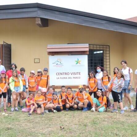 """Parco dell'Aspromonte, gli studenti del Progetto """"I Fuoriclasse"""" in visita al Centro di Zomaro"""