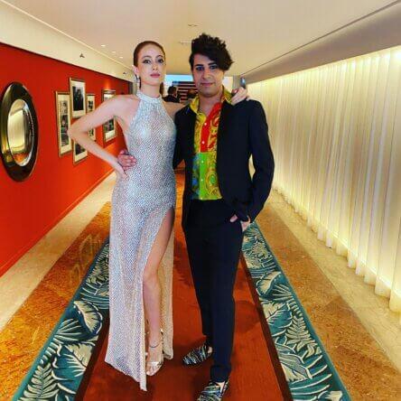 Lo stilista calabrese Antonino Cedro al Festival del Cinema di Venezia