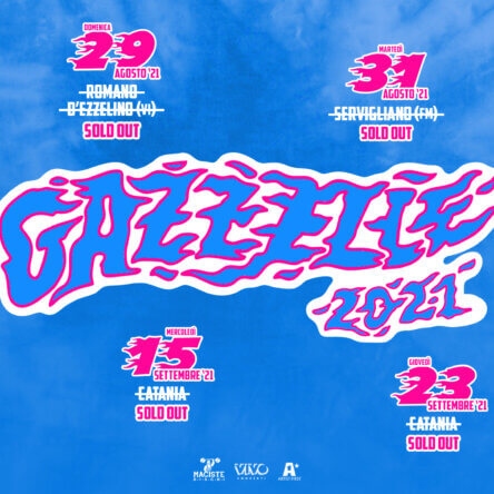 Roccella Summer Festival, Gazzelle raddoppia. Sold out in poche ore i biglietti per il primo concerto, seconda serata il 26 settembre