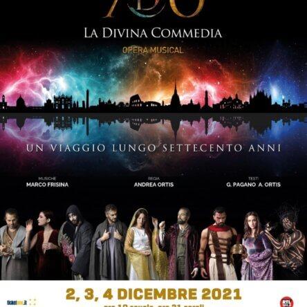 """""""FATTI DI MUSICA 2021"""" chiude con il colossal """"La Divina Commedia Opera Musical"""""""