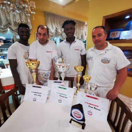 Pizza, premi nazionali per squadra PEDRO'S