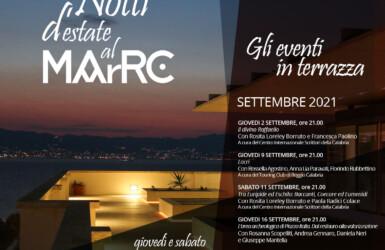 programma settembre 2021 MArRC