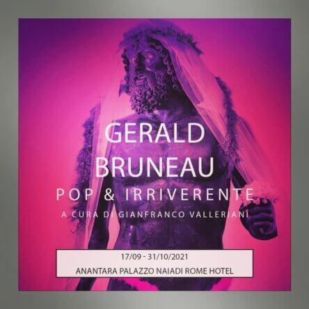 "I Bronzi di Bruneau protagonisti in Capitale con ""Pop e irriverente"" tra Warhol e Pavarotti"