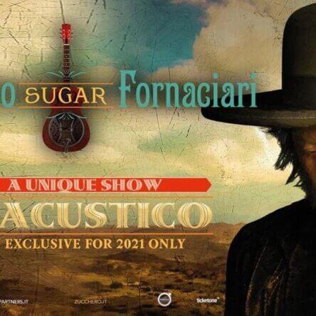 Roccella Summer Festival, grande evento il 22 settembre al Teatro al Castello con il concerto di Zucchero