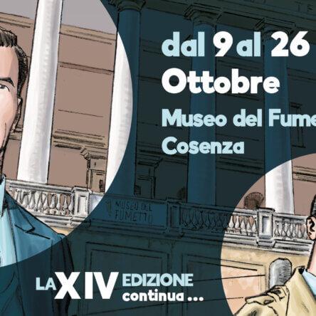 Dal 9 al 26 ottobre   Museo del Fumetto, Cosenza